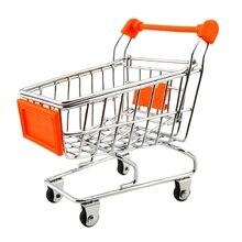 Toys Mini Cart for children 11 x 8 11.5 cm Orange