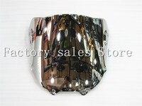 HotSale For Honda CBR 900 RR 893 1994 1995 1996 1997 silver Windshield WindScreen Double Bubble CBR893 CBR900RR 900RR CBR900 94