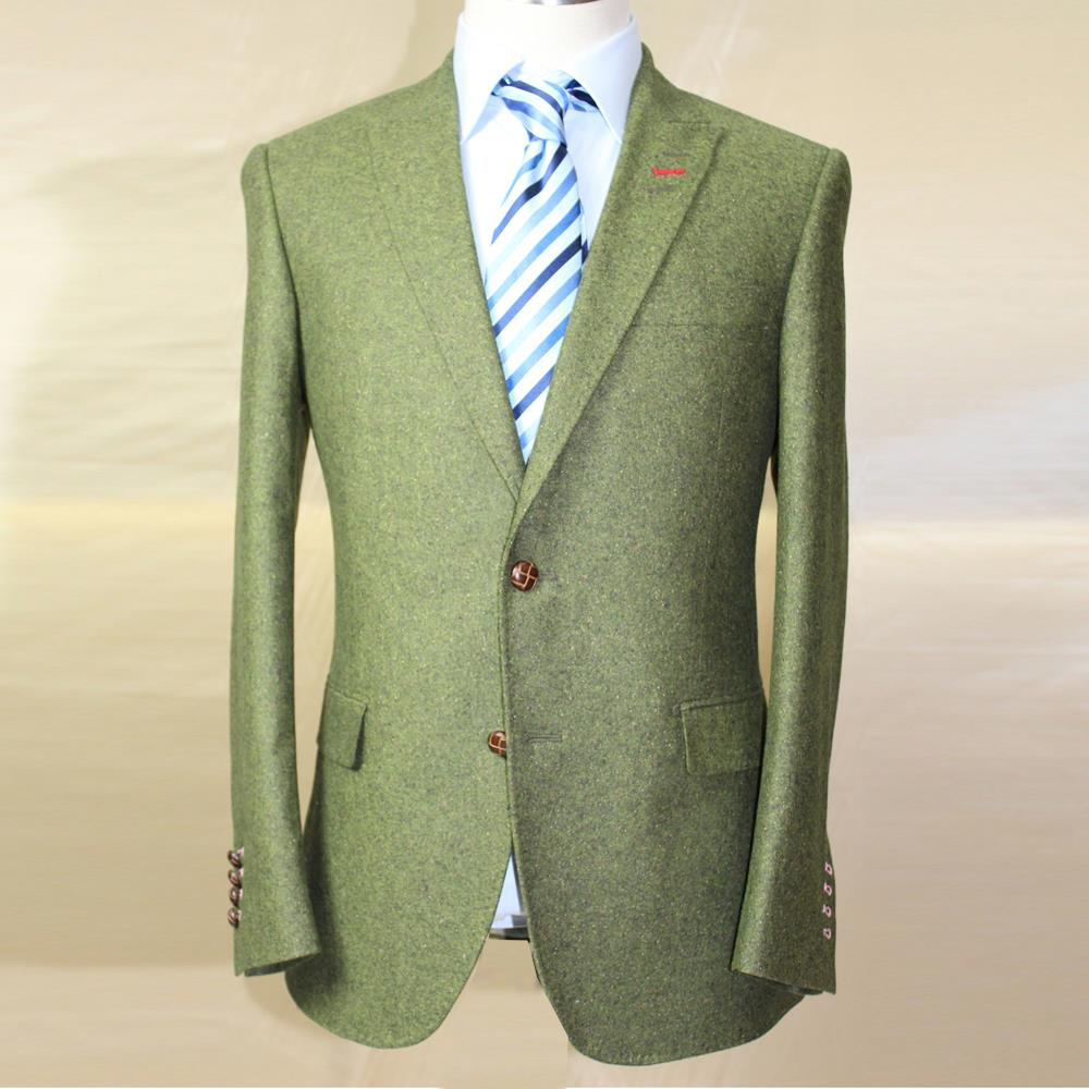 VA 2017 Herbst Winter Herren Slim Fit Tweed Wolle Business Hochzeit - Herrenbekleidung - Foto 4