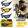Ess gafas de caza militar antibalas lentes UV400 anti UV Lente deportes al aire libre gafas de sol para proteger el juego disparando a la gente