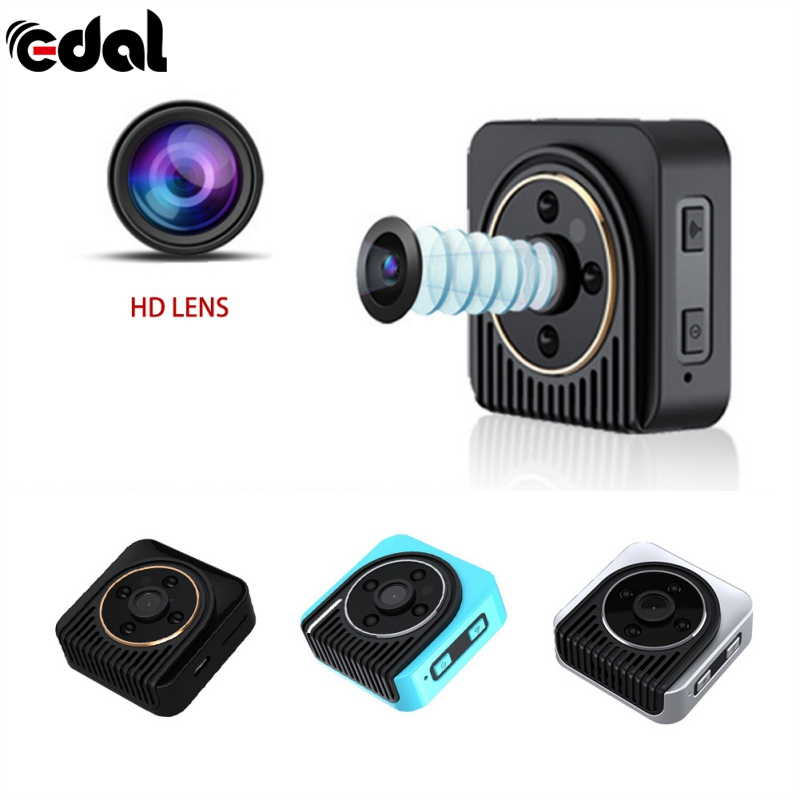 EDAL H5 720P Mini Camera Wifi Infrared Night Vision Mini Camcorder DV Voice Video Camcorder Recorder Sport Outdoor Bike Cam DVR