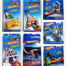 Hot Wheels track ESS BSC Pop-up launch Car Kids Toys For Children Diecast Brinquedos Hotwheels   Birthday Gift BLR01