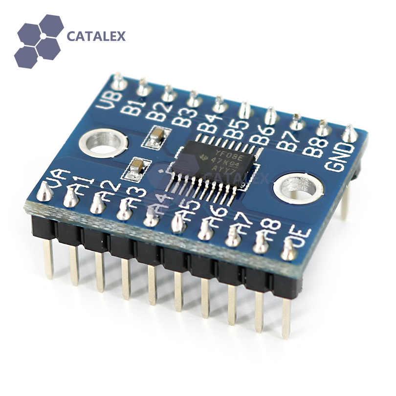 Convertisseur de niveau logique manette de vitesse convertisseur de niveau logique Module de conversion de niveau de tension 8 bits bidirectionnel pour Arduino