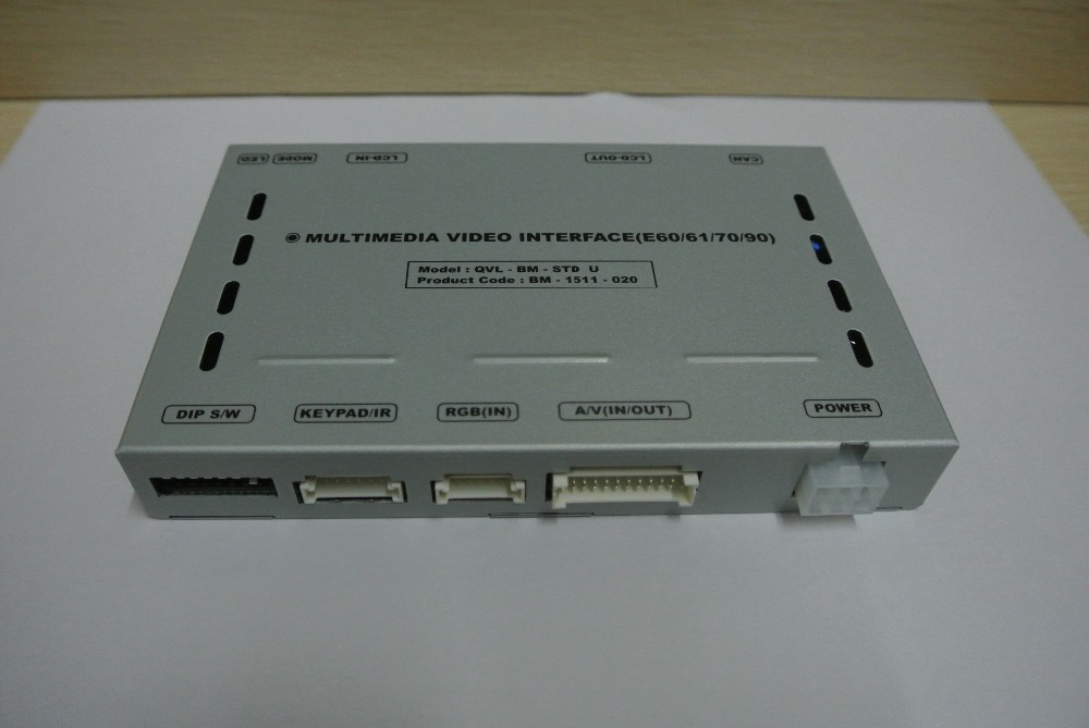 Voiture Multimédia Vidéo Interface pour BMW1/3/5/6/X5/X6 Série avec PIP fonction (iDrive Support) avec la CCC Système