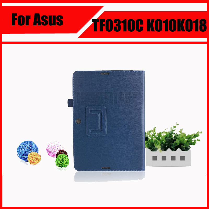3 in 1 Top Lychee PU Leather Case with Stand For Asus Transformer Pad TF103C TF103CG TF0310C K010 K018 + Screen Film + Stylus protective pu flip open case w stand stylus pen for asus transformer pad tf303cl white