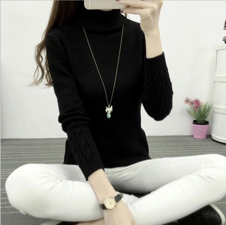 2018 New Women Sweather Warm Autumn and Winter Casual Long Sleeved Pullover