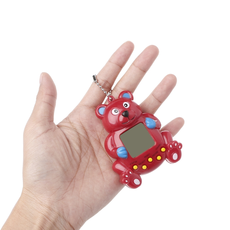 Image 5 - LCD Virtual Digital Pet Handheld Electronic Game Machine With Keychain Bear Shape-in Handheld Game Players from Consumer Electronics