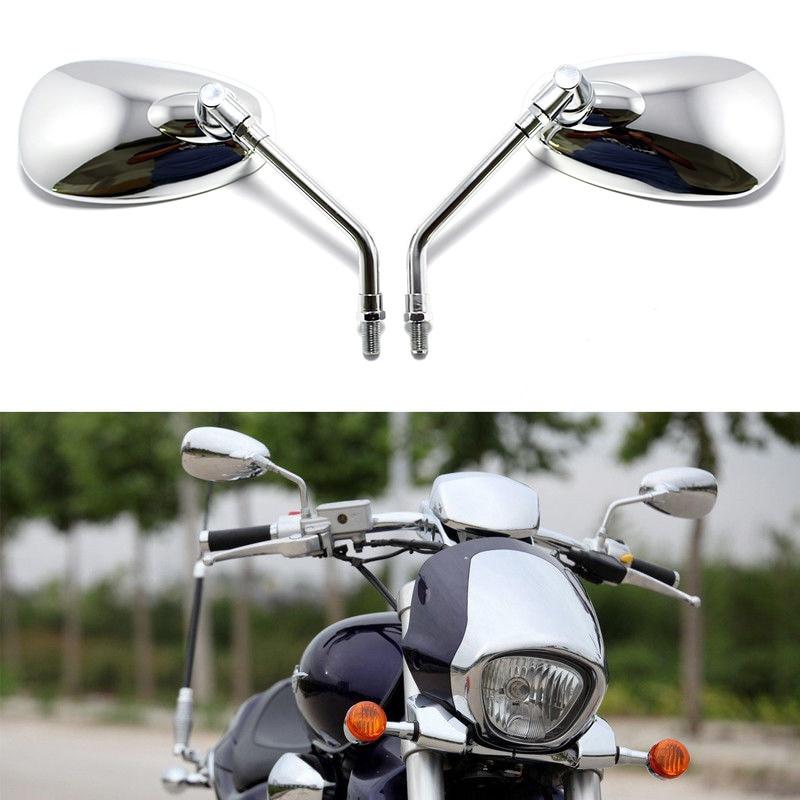 Universal CNC Moto Rétroviseurs Vue Arrière Latérale Miroir pour Kawasaki Yamaha Honda Suzuki BMW Ducati Aprilia Triumph