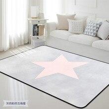 Корейский ковер со звездами нескользящий пол коврик для ванной коврик мягкий детский игровой коврик для гостиной Крытый спальня коврик Детская комната tapete