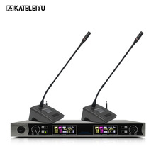 wireless microphone system meeting room gooseneck microphone for business conference lectures 2 channel conference microphone oupushi conference system 8 channel gooseneck uhf ppl wireless conference table microphone sound quality ceiling speaker