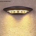Скандинавские уличные Современные Настенные светильники 4 Вт  светодиодные светильники для крыльца IP65  водонепроницаемые бра  настенный св...