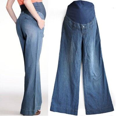Осень брюки для беременных бьянка-лодочки брюшной беременности брюки джинсы для беременных женщин k010