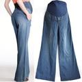 Calças de outono para as mulheres grávidas Bianca gravidez Abdominal calças Jeans para grávidas k010