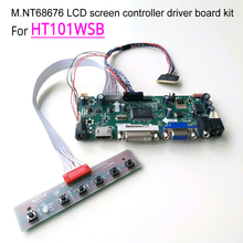 M.NT68676 display controller driver motherboards DIY kit for HT101WSB 10.1″ 1024*600 WLED LVDS 40 pin notebook PC led lcd screen