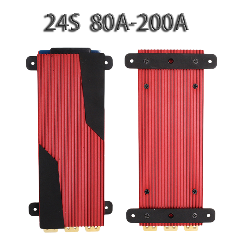 24S 84V Lithium Battery Protection Board High Current Car 3 7V 3 V 80A 100A 120A