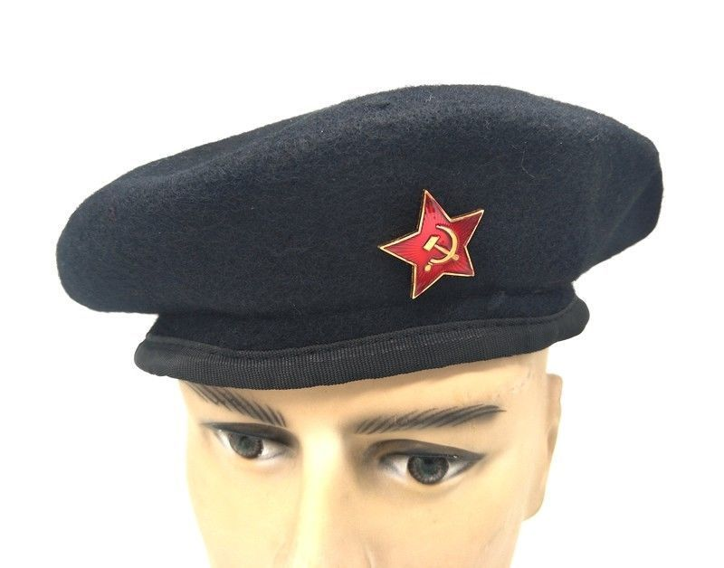 MILITARY SOVIET CAP ARMY BORDER GUARD USSR WO BERET HAT IN SIZES - World  military Store