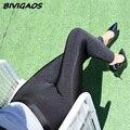 2016 Nova Queda de Inverno das Mulheres Plus Size Grosso Leggings de Veludo Elástico Macio Preto Brilhante Leggings Lápis Calças Leggings Quente mulheres
