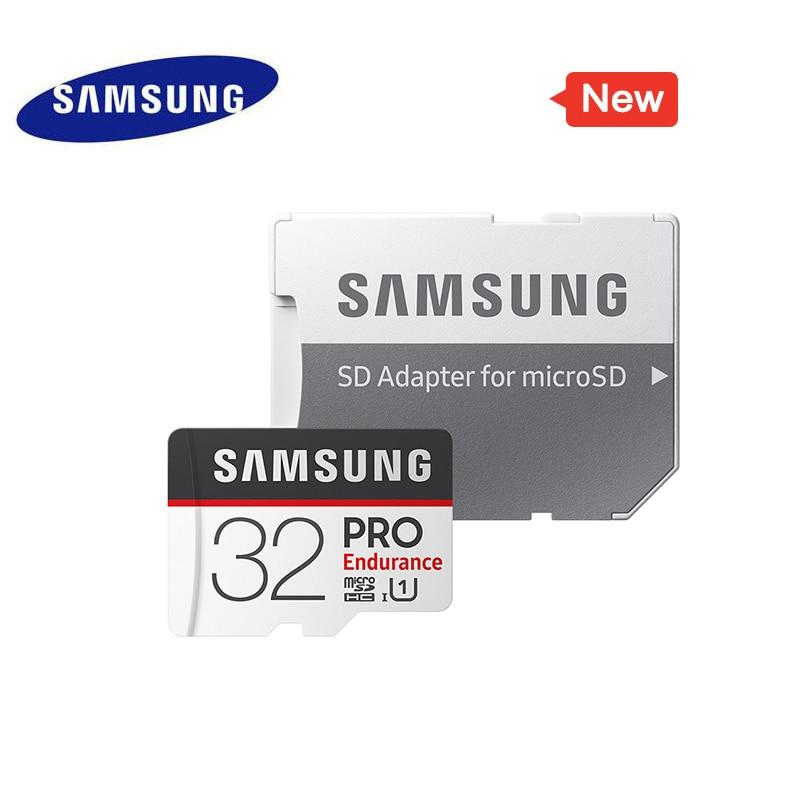 SAMSUNG Memory Card Micro SD PRO Endurance 100MBs 128GB 64GB 32GB SDXC SDHC Class 10 C10 UHS-I Trans Flash Microsd 2018 New