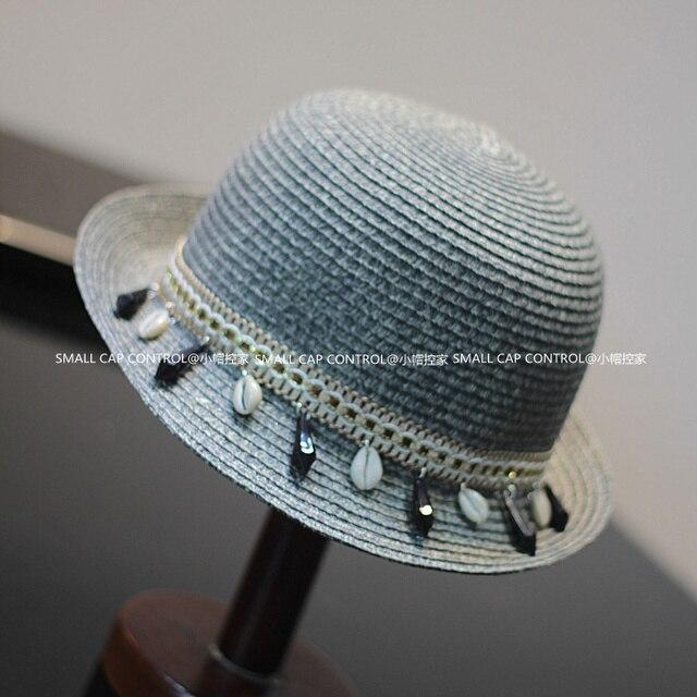 Лето новинка женщины соломенные шляпы ведро Chapeu Feminino фетровых солнце пляж шапки т-й снаряды SCCDS-032