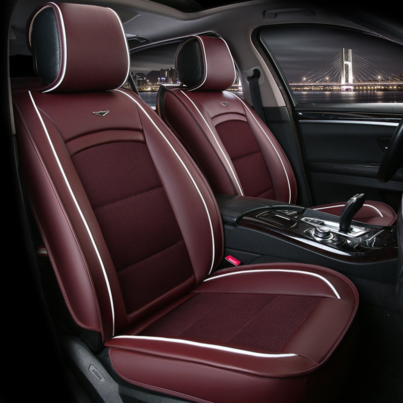 High Quality Car Seat Cover Universal auto seats covers accessories for nissan cefiro leaf livina note patrol y61 primera altima