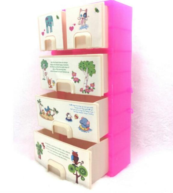 pop accessoires baby speelgoed nieuwe printing closet garderobe kast voor barbie pop meisjes prinses slaapkamer meubels