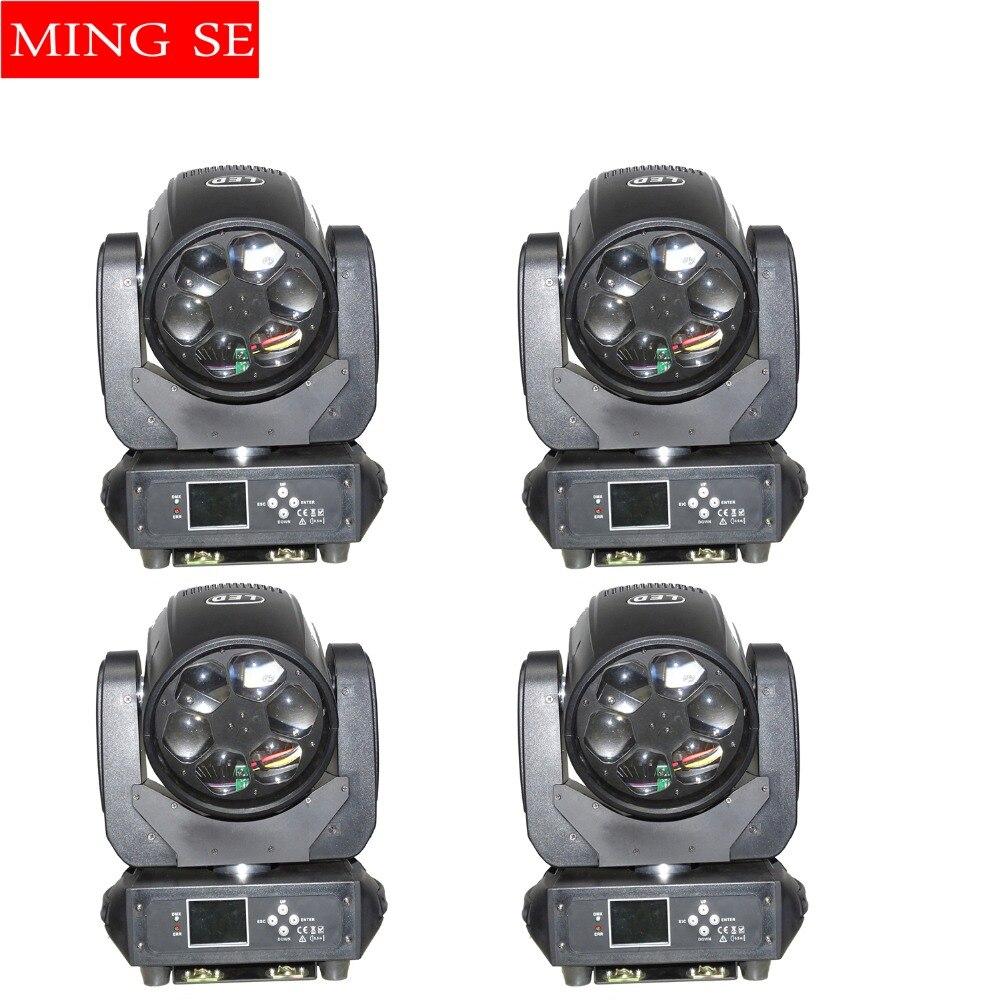 4 шт./лот светодиодный Супер луча 6x40 Вт RGBW 4in1 светодиодный Увеличить перемещение головы луч света пчелы глаз для бара СВЕТОДИОДНЫЙ освещения