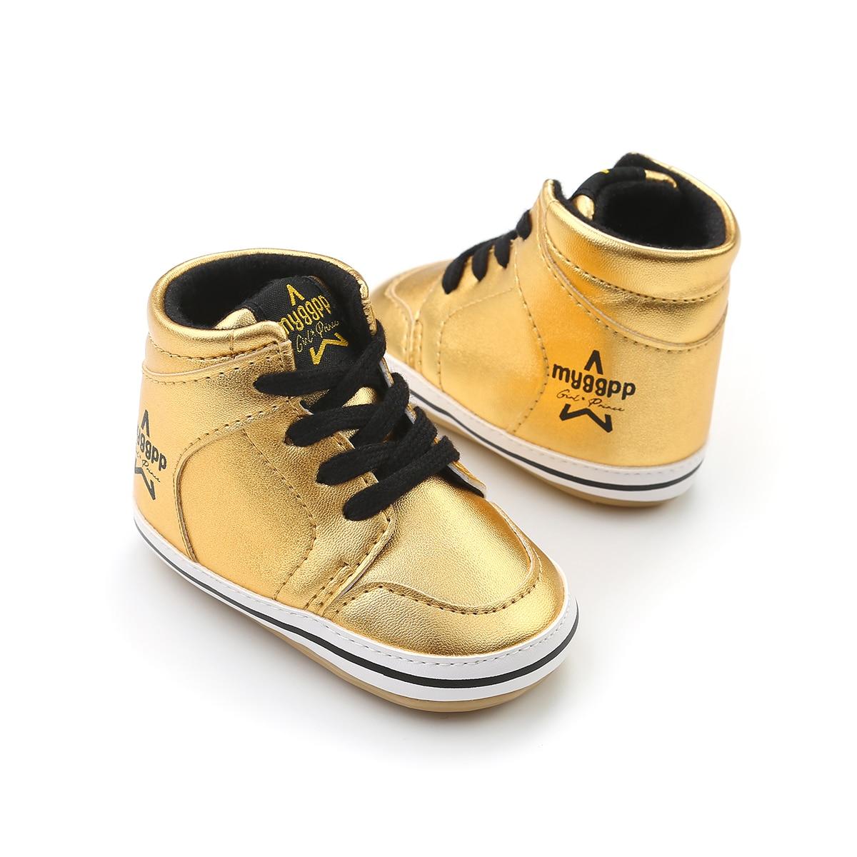 Newborn Baby Boy Girl Shoes Soft Sole White Pram Warm ...