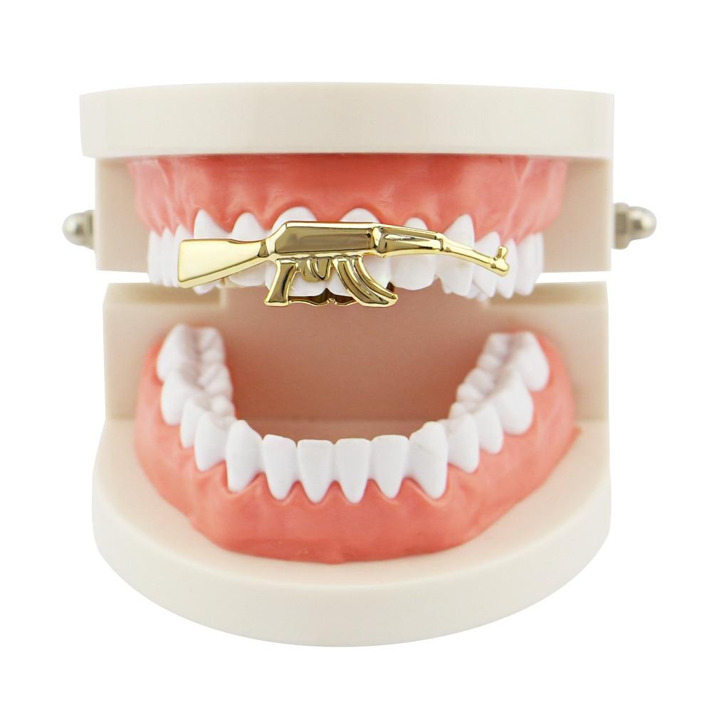 Orthodontic Braces Dental Braces Alignment Trainer Teeth Retainer Braces Tray Hip Hop Single Braces Top Bottom Custom Teeth