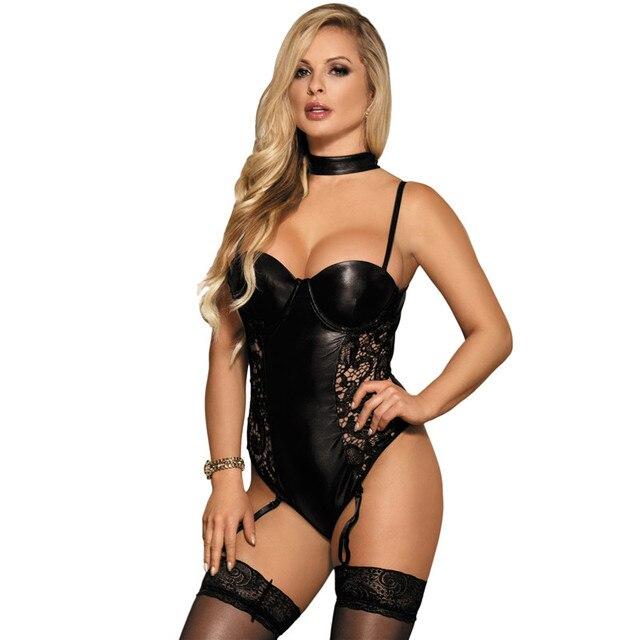 2f8fc9f8c42c € 7.63 13% de DESCUENTO Lenceria Erotica Mujer Sexi talla grande XL 5XL  Lencería de peluche de cuero de peluche lencería Sexy RS80384 sin espalda  Sexy ...