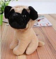 Nadziewane pies pluszowe zabawki symulacji symulacji zwierząt 18 cm shari pie pies lalki d8046