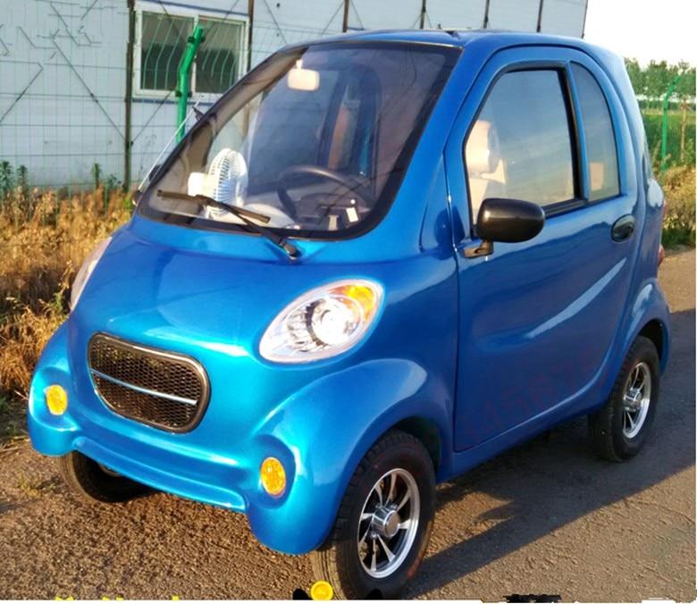 Китайский электромобиль SD-HZ-Electric car: с какой стороны к нему подходить?