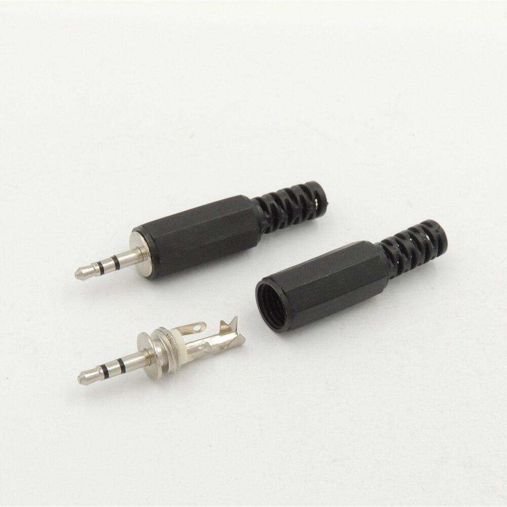 10pcs 3.5mm stereo headset plug jack 3pole 3.5 audio plug jack adaptor~connec Jh