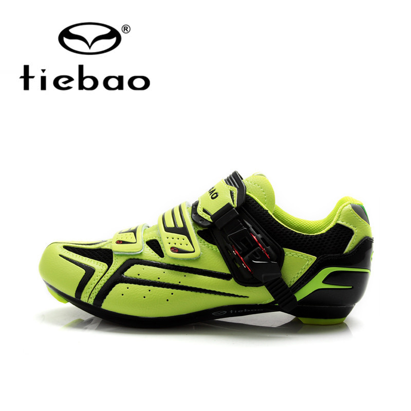Tiebao Professional Road Bike Cycling Shoes Bicycle Athletic Racing Shoes AutoLock Shoes Nylon-Fibreglass zapatillas ciclismo tiebao nylon fibreglass road sports clismo shoes road bike cycle athletic clismo cycling bike shoes for men 46size