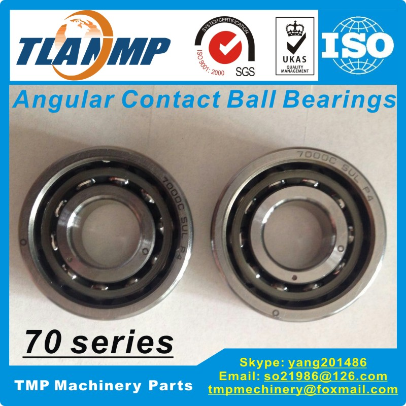 7000AC 7000C P4 SU/DB/DF/DT Angular Contact Ball Bearing (10x26x8mm) High Precision Spindle Bearings