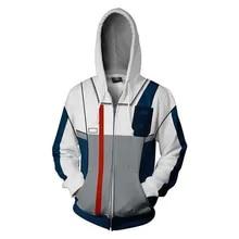 Anime Gundam Cosplay Zipper Men Women Camouflage Jacket Coats Hoodies Cool D#5
