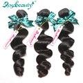 RosaBeauty 6A Peruvian Virgin Hair Loose Wave 3 Bundles Unprocessed Peruvian Loose Wave Virgin Hair Bundles Weaves Free Shipping