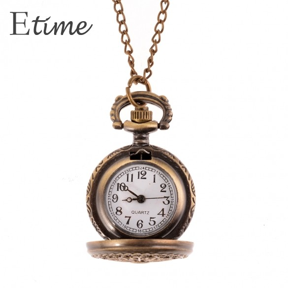 Fanala 2017 women bronze pocket watch web spider hollow antique fanala 2017 women bronze pocket watch web spider hollow antique clock necklace chain quartz pendant watch mozeypictures Images