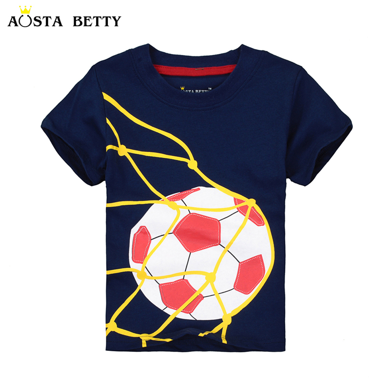 AOSTA BETTY Marke Boy Kurzarm T-shirt Baby Sommer T-shirts Kinder Kleidung Fußball...