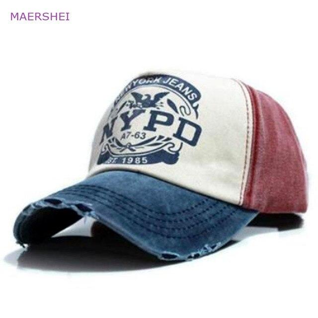 MAERSHEI lavado dos homens de letras para fazer o velho boné de beisebol personalidade afiação cap motorista cap sanpback