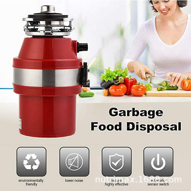 1L Kitchen Garbage Processor Food Waste Disposer 110/220V