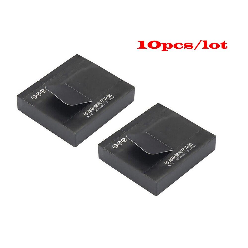 Vente chaude 10 pcs/lot xiaomi yi Caméra Batterie Li-ion Batterie Pour Xiaomi Yi Camera Action Accessoires