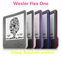 Lightest! e Book reader e ink 6 inch 8GB 1024*768 Arc e-ink screen Wexler Flex One e-Book Reader