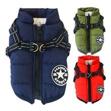 Популярная куртка для собак осень-зима, зимний лыжный костюм для щенков, одежда, куртка для маленьких собак, одежда для грудной клетки, жилетка для питомцев, S-XXL