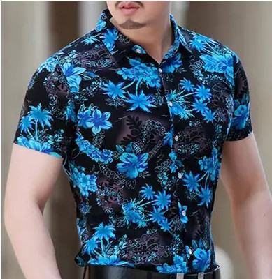 2015 Male Shirt Printer Designs Cotton, Short Sleeve Mens Printed ...