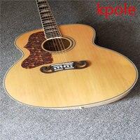 Nuovo prodotto mano sinistra chitarra elettrica Kpole dimensioni Jumbo chitarra acustica chitarra elettrica acustica subito spedizione