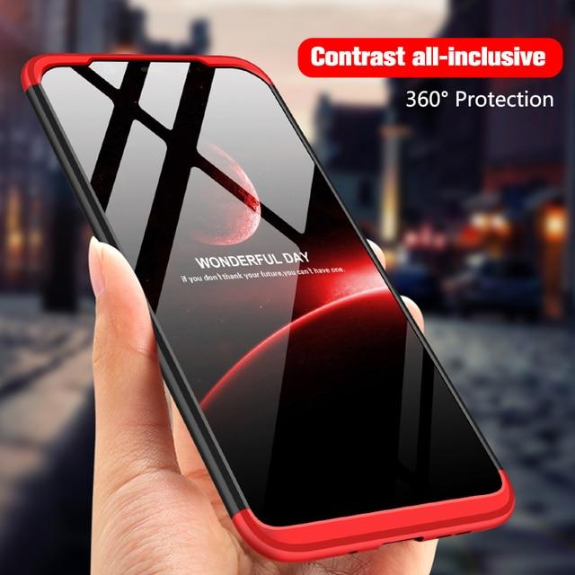 UTOPER Phone Case For Asus Zenfone Max Pro M2 ZB631KL Case 360 Full Cover Hard Etui For Zenfone Max Pro M1 ZB601KL Case Phone
