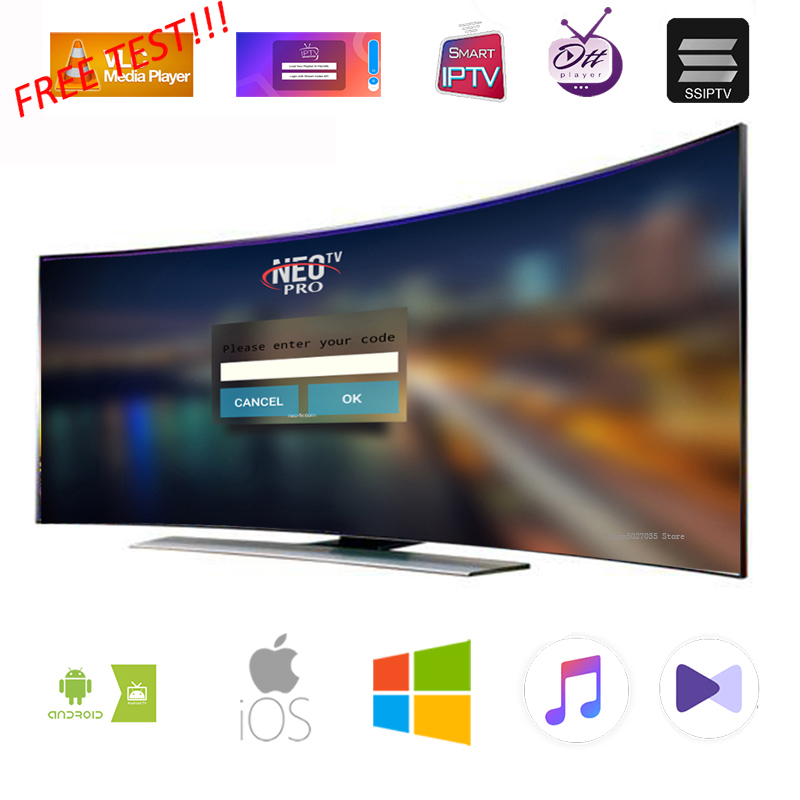 Neotv Android Tv Box Iptv Subscription French Italian Spanish Europe  Portugal Albania Ex-yu Polish Iptv Code (Mega Sale Black Friday 2019)