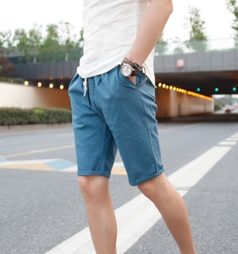 Summer Fashion Mens Shorts 2015 Summer New Japanese Style Cotton Linen Korean Shorts Linen Shorts Surf Beach Shorts Shorts Cycling Shorts Skirtshorts Bow Aliexpress