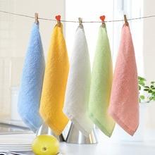 Новое поступление одноцветное Цвет стирка полотенце для лица и рук кожи малышей для мальчиков девочек платки 2 шт. ZFS0587