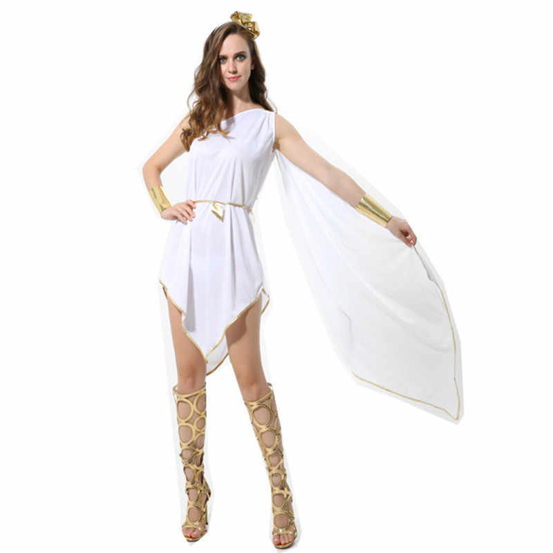 6d69a5c5124e ... new Greece Princess Costume Cleopatra Masquerade Party Dress Athena  Goddess Cosplay clothing Adult Roman Queen Costume ...